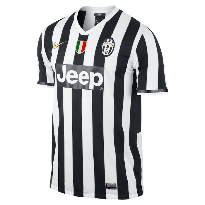 huge selection of 374d7 b4f0e Juventus 13-14 (2013-14) Home and Away Kits Released - Footy ...