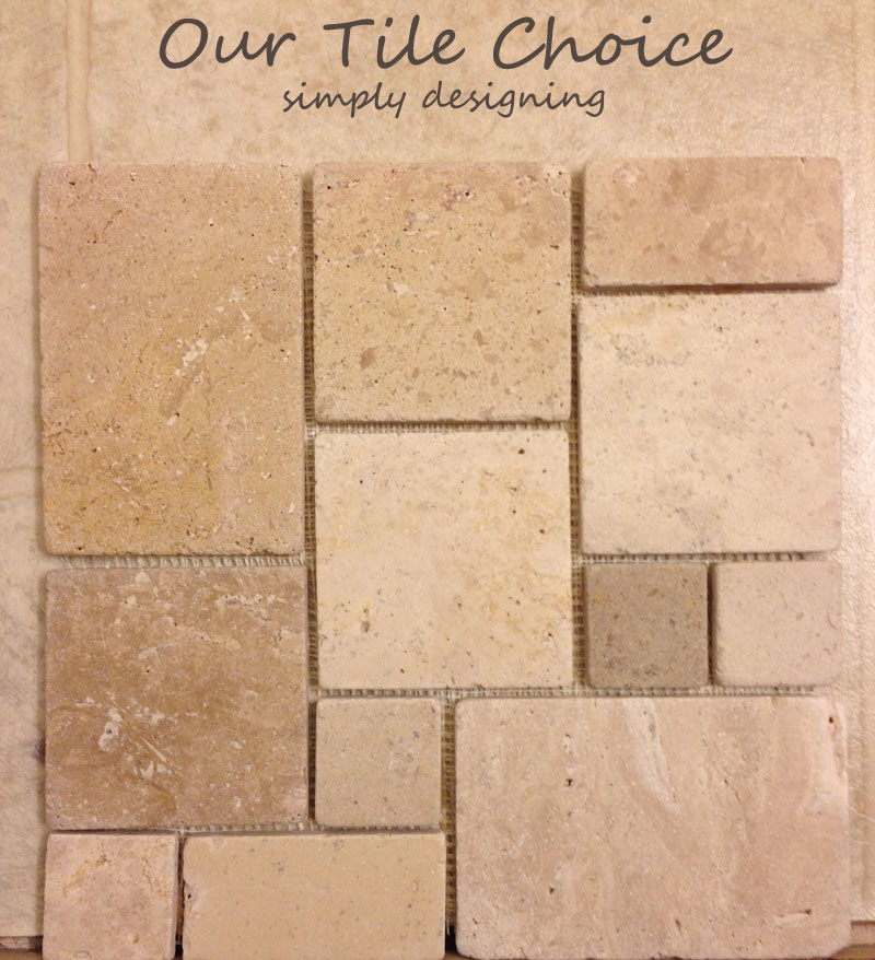 Our Tile Choice for a Bathroom #diy #tile #bathroom