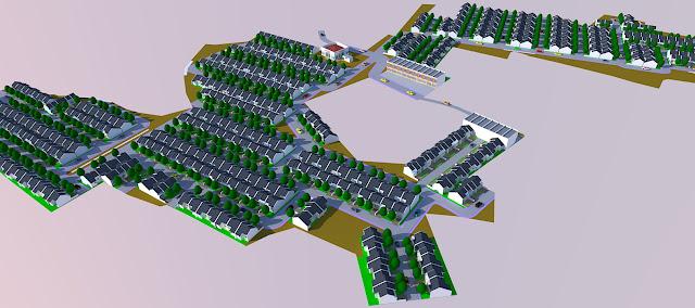 Gambar Site Plan Taman