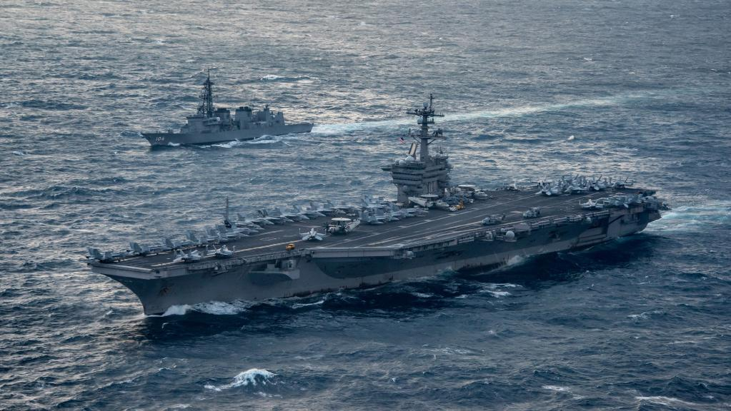 US sends aircraft carrier group toward Korean