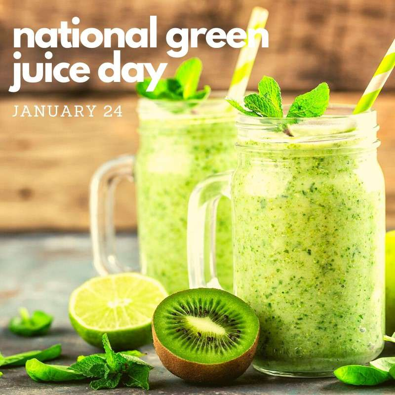 National Green Juice Day Wishes Sweet Images
