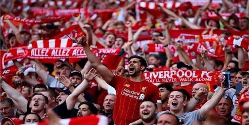 عودة الجماهير للدوري الإنجليزي.fans en Premier League anglaise