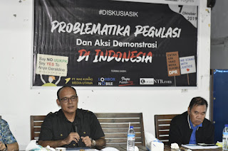 Gelar Diskusi, LBH Progres Bahas Masalah RKUHP dan UU KPK