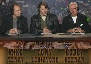 WCW Spring Stampede 1999 - Mike Tenay, Tony Schiavone, Bobby 'The Brain' Heenan