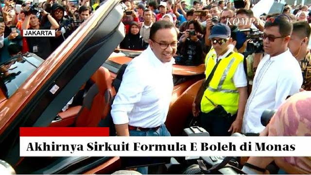 Sukses Formula-E Akan Mengangkat Nama Indonesia di Mata Dunia, Kenapa Malah Dihalangi?