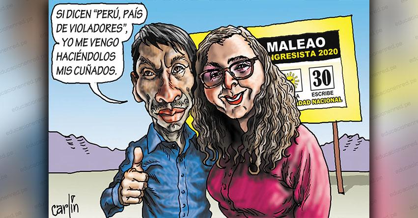 Carlincaturas Lunes 20 Enero 2020 - La República
