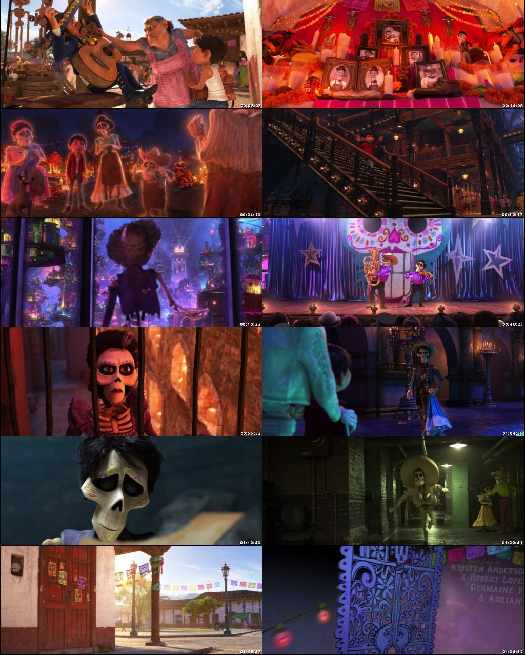 Coco 2017 Dual Audio [Hindi - English] 720p BluRay mkv movie free Download screenshots (movie pictures)