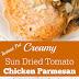 INSTANT POT CREAMY SUN DRIED TOMATO CHICKEN PARMESAN RECIPE