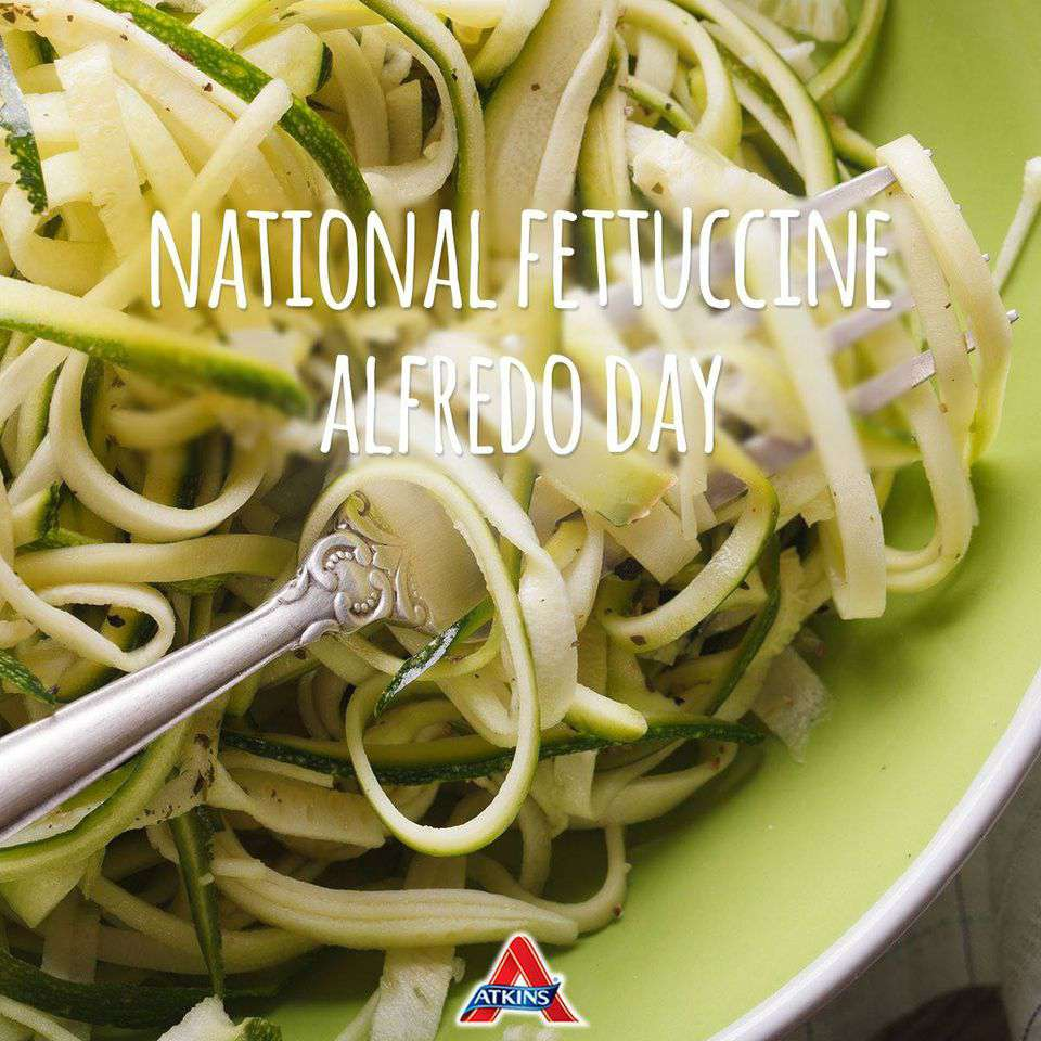 National Fettuccine Alfredo Day Wishes Images