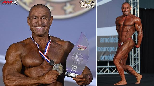 Με 2 μετάλλια επιστρέφει ο Τάσος Κολιγκιώνης από την Βαρκελώνη!