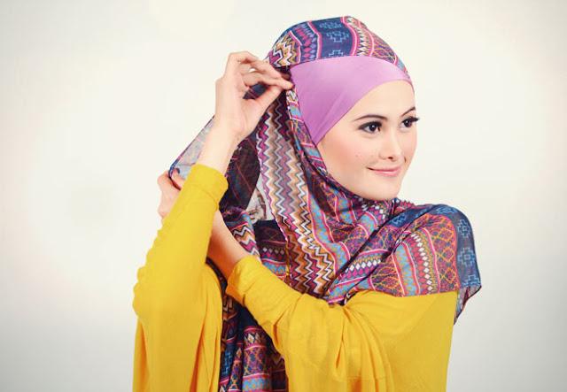 Tutorial hijab pashmina siti juwariyah