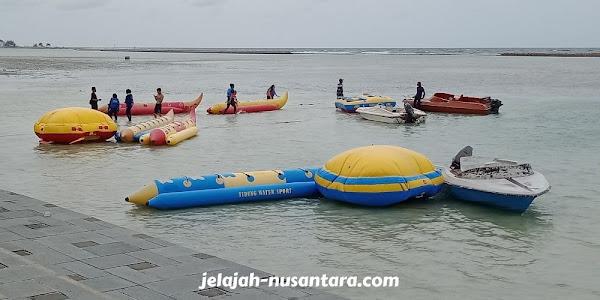wahana permainan air pulau tidung