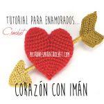 http://www.patronesparacrochet.com/2016/01/corazon-crochet-con-iman-tutorial.html