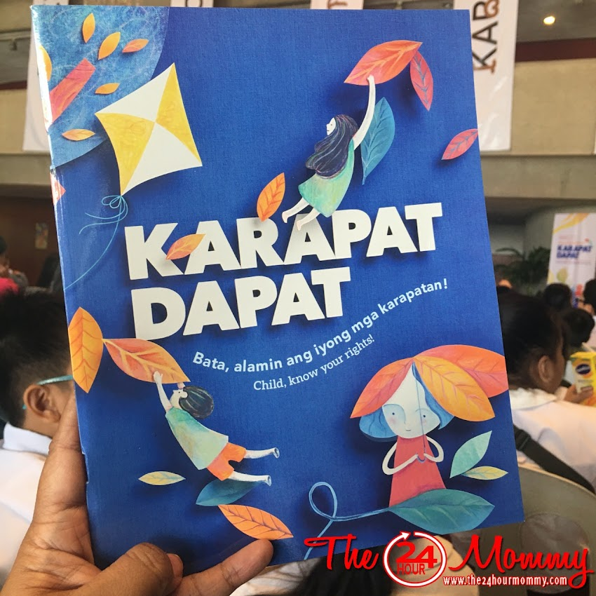 "Celebrating the Rights of a Child at ""Batang Kapat-Dapat"""