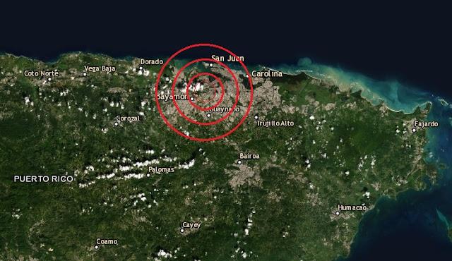 ¿Sintieron el temblor en San juan Y Bayamón? Remezón en Puerto Rico en la mañana del martes