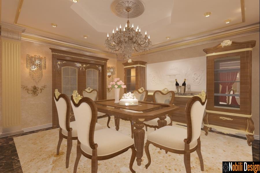 Design interior case vile stil clasic Bucuresti - Arhitect / Amenajari Interioare Bucuresti