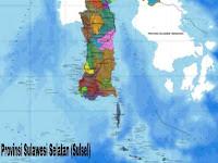 4+ Batas Wilayah Provinsi Sulawesi Selatan (Sulsel)
