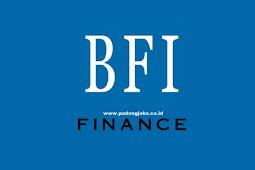 Lowongan Kerja Bukittinggi PT. BFI Finance Indonesia Tbk November 2019