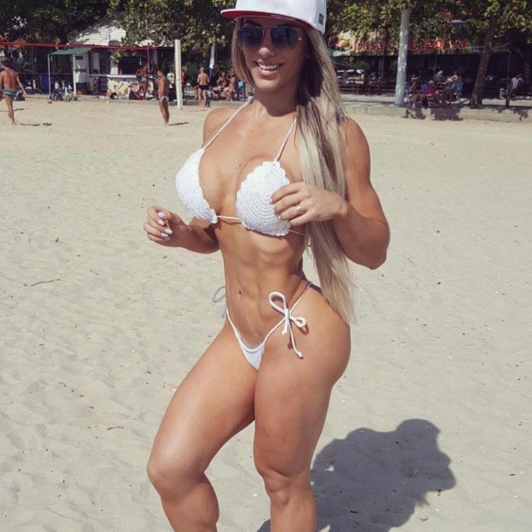 Brazilian Fitness Motivation Roberta Zuniga