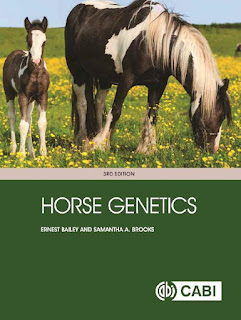 Horse Genetics 3rd Edition by Bailey & Brooks