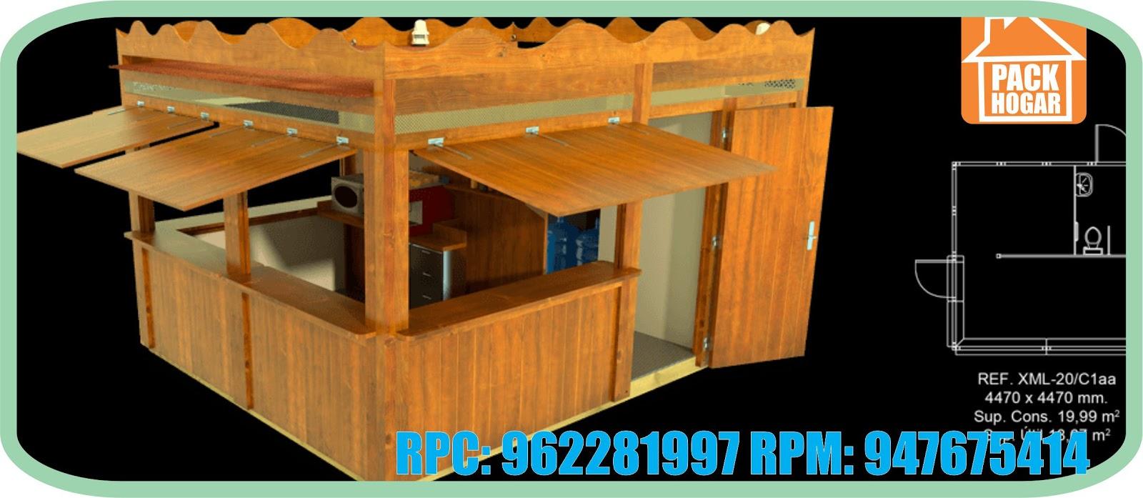 Kioscos de madera en peru - Casetas de madera pequenas ...