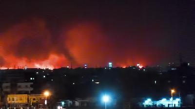la proxima guerra israel ensaya ataque contra iran bombardeo sudan jartum