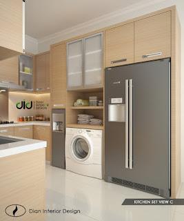 dapur modern, dapur minimalis, dapur bentuk u, kitchen modern, inspirasi kitchen, ide dapur, kitchen ideas