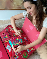 Shraddha Kapoor with Gifts from Body Shop HeyAndhra.com