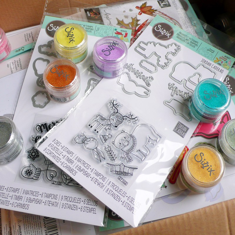 Sizzix.co.uk - Unboxing - Chapter 4 – 2019 – Nuove fustelle!