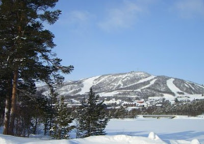 Musim Salju di Norwegia