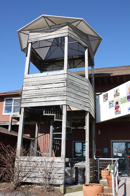 Observation tower at the Chesapeake Heritage and Visitor Center