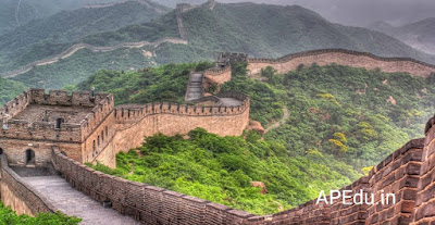 The Great China Wall that is disappearing