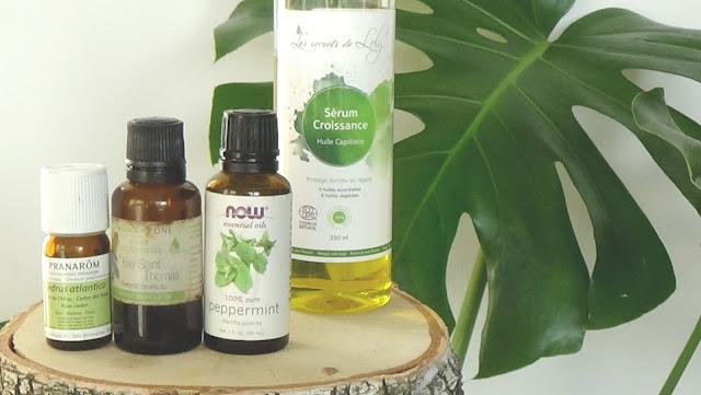 huile essentielle pousse cheveux