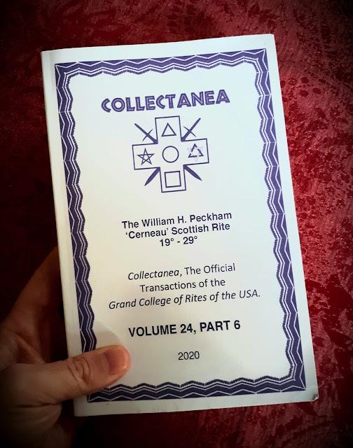 Collectanea. Grand College of Rites. Volume 24, Part 6. Cerneau Scottish Rite