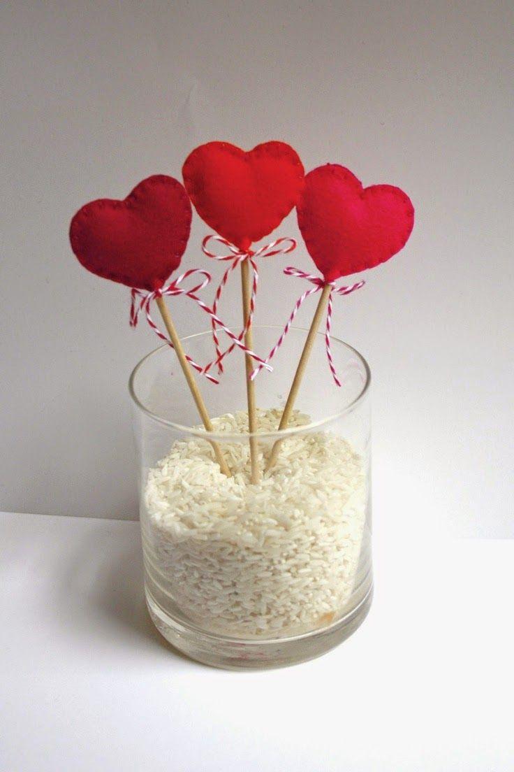 Multinotas san valentin detalles que enamoran Adornos san valentin manualidades