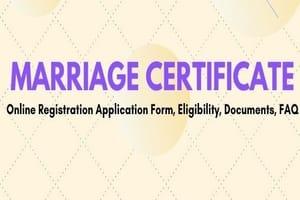 Uttarakhand e-Marriage Certificate