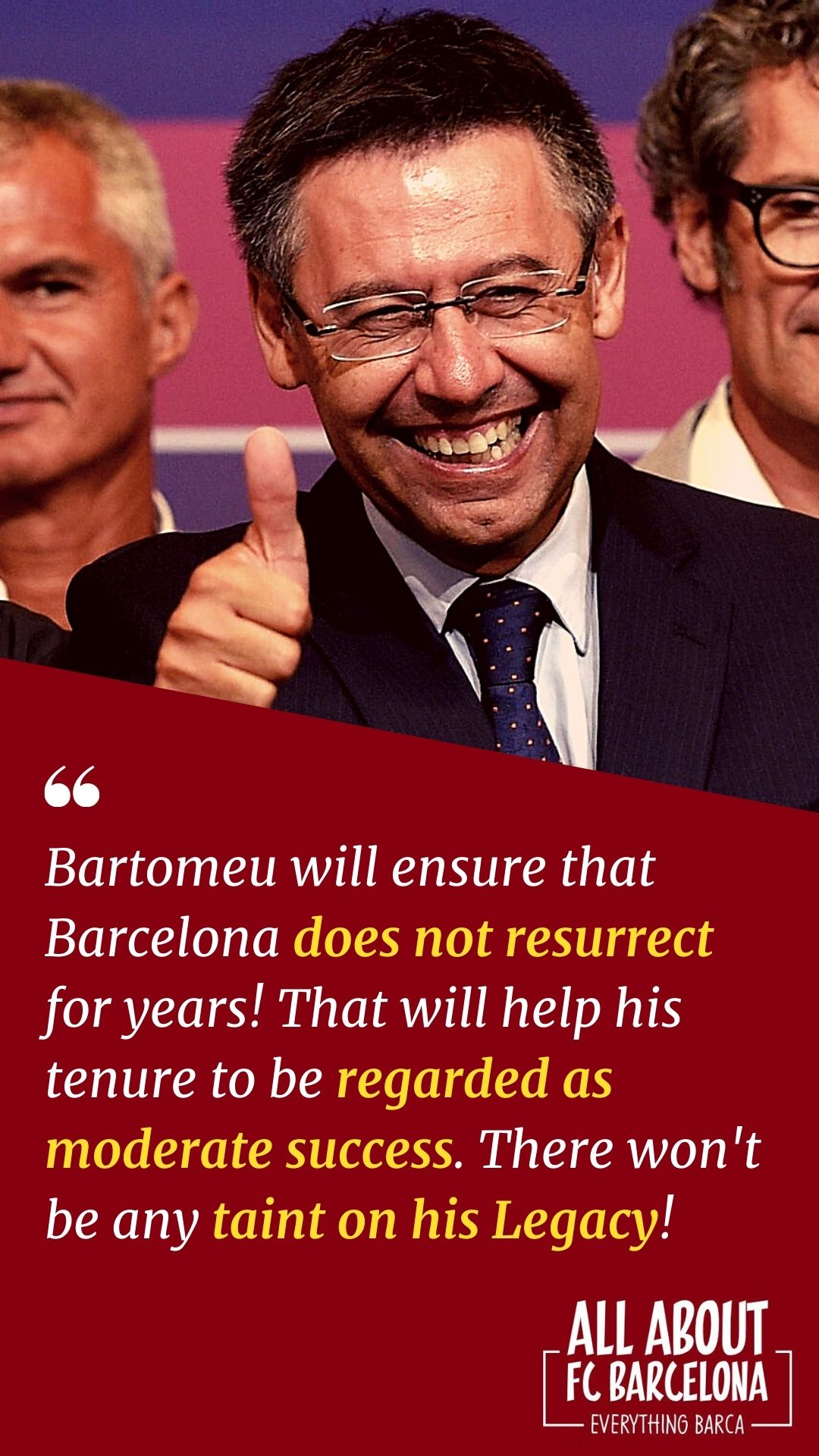 Bartomeu Carefully trying to Sabotage the Club to save his Legacy!