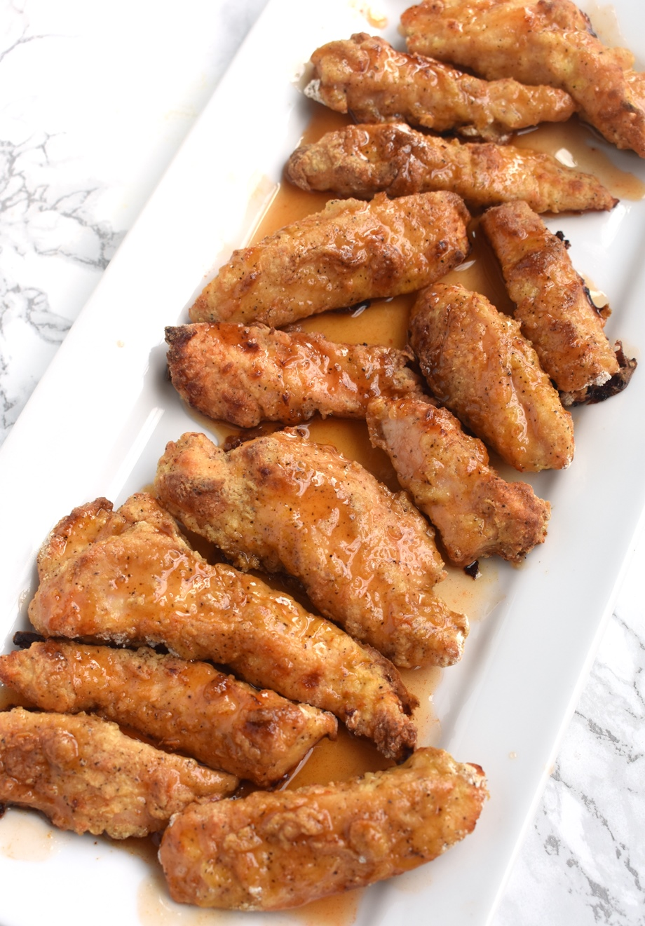 crispy baked hot honey chicken
