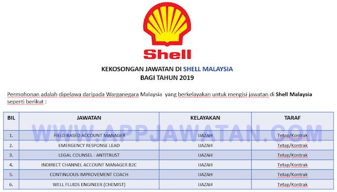 Jawatan Kosong Terkini di Shell Malaysia.