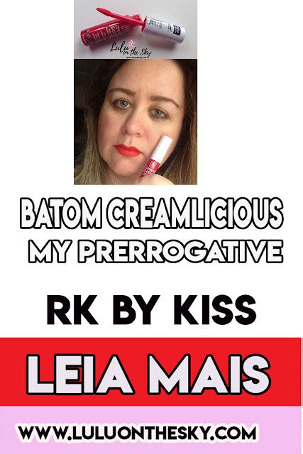 Batom Matte Creamlicious RK by Kiss MY PRERROGATIVE