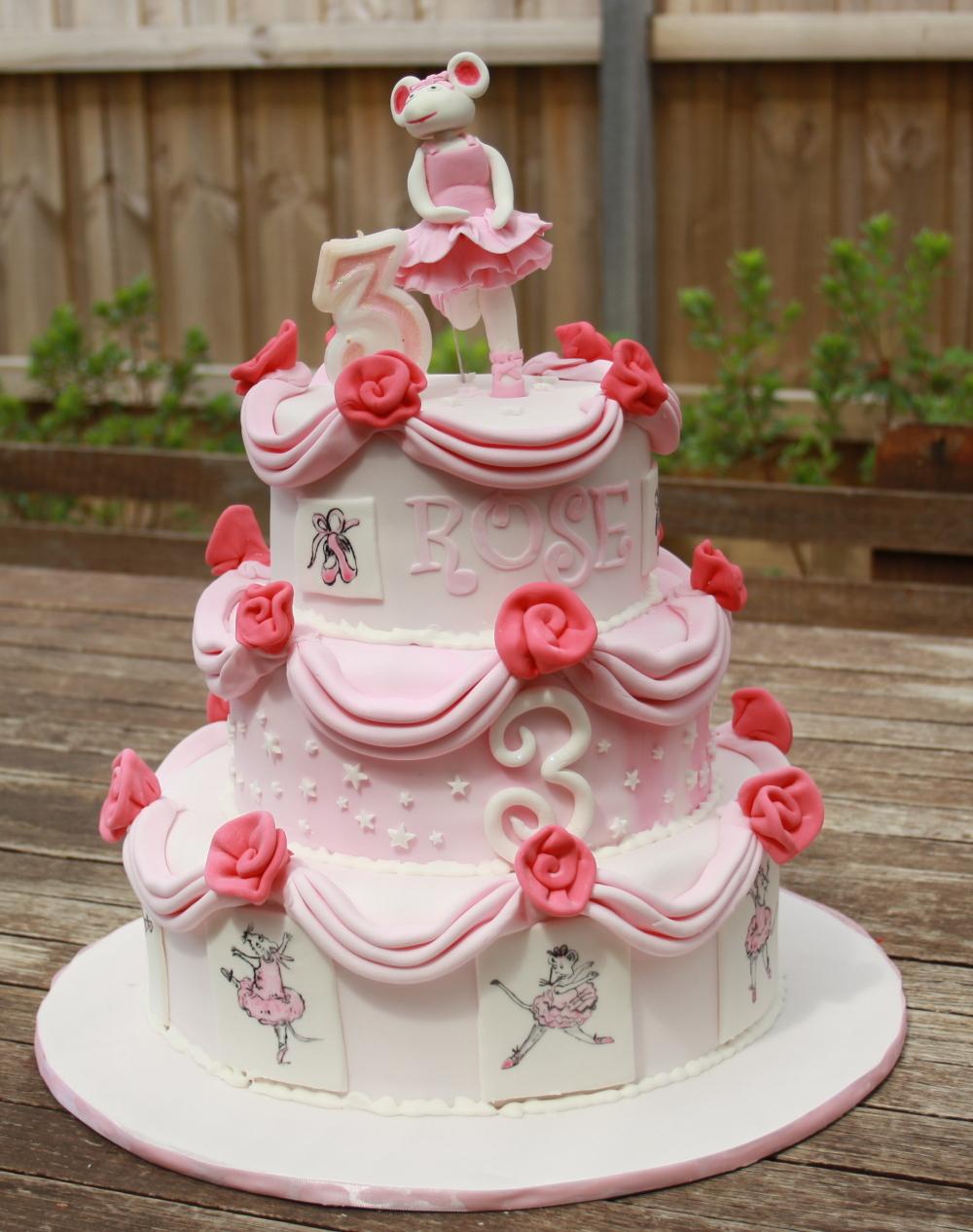 Girls Th Birthday Cake