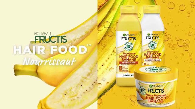 Soin Démêlant Nourrissant Hair Food Banane Fructis