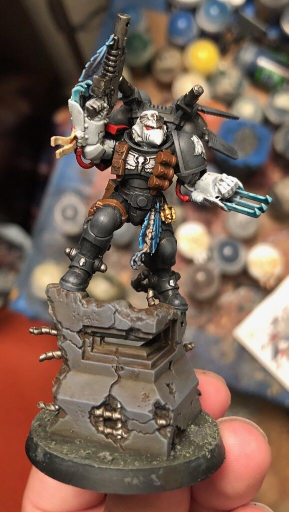 What's On Your Table: Chapter Master Kayvaan Shrike