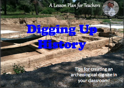 Tips for creating an archeology dig site in your classroom