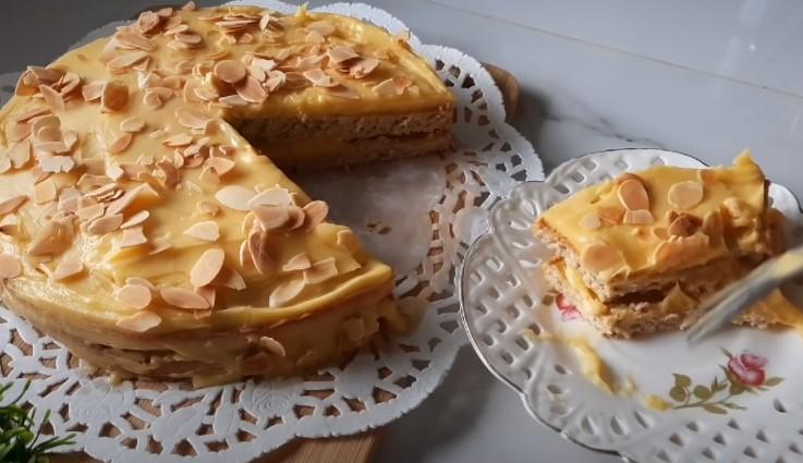 sweden almond cake