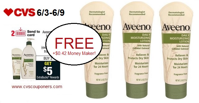http://www.cvscouponers.com/2018/06/free-042-money-maker-for-aveeno-daily.html