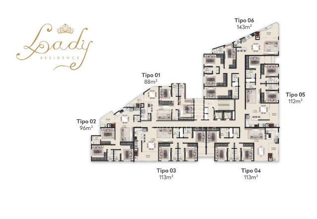 Lady Residence planta baixa