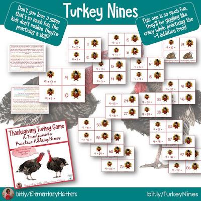 https://www.teacherspayteachers.com/Product/Dont-be-a-Turkey-Game-for-Adding-9s-409160?utm_source=blog%20post&utm_campaign=Turkey%20Nines