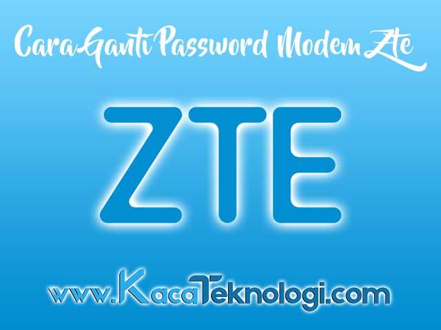 Cara Mengganti Password WiFi Indihome ZTE F609 Lewat HP