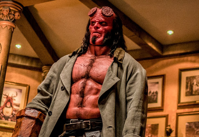 "David Harbour reconhece os problemas do novo ""Hellboy"""